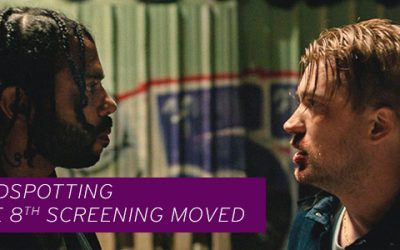 BLINDSPOTTING Location Changed/NEVER GOIN' BACK Cancelled